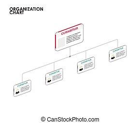 עץ., שרטט, דוגמה, וקטור, infographics, ארגון