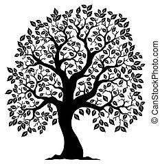 עץ 3, צללית, עצב
