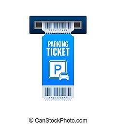 עצב, purposes., גדול, כרטיסים, לחנות, וקטור, אחסן, zone., כל, illustration.