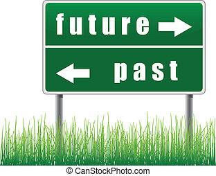 עתיד, תמרור, past.