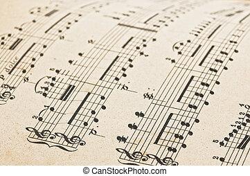 עתיק, הבקע, מוסיקה