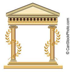 עתיק, יווני, בית מקדש
