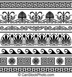 עתיק, יווני, גבולות, קבע, וקטור