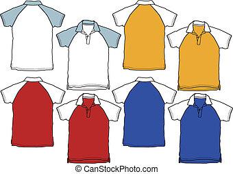 פולו, בחור, ספורט, חולצה, מדים