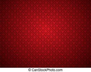 פוקר, רקע אדום
