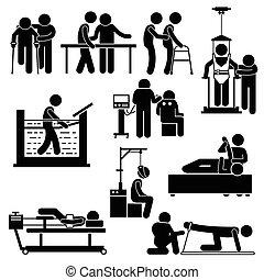 פיזיותרפיה, שיקום