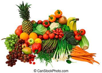 פירות, ירקות טריים