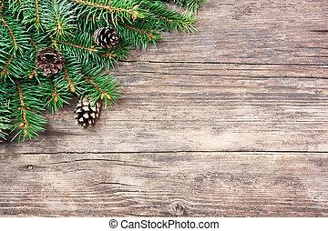 פ.י.ר., מעץ, עץ, חג המולד, רקע