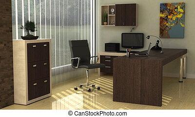 פנים של משרד, מודרני
