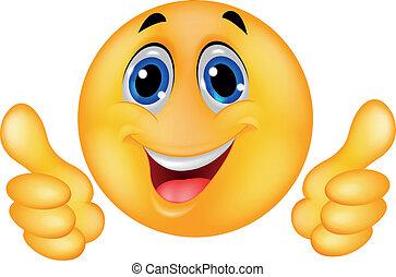 פנים שמחות, סמילאי, אמוטיכון