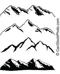 פסגות של הר