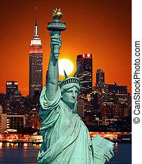 פסל, עיר, יורק, דרור, חדש