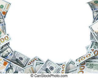 פסק, טקסט, דולר, רקע, חדש, חשבונות