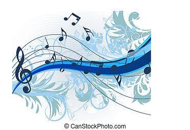 פרחוני, מוסיקה