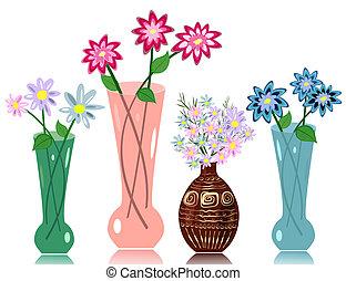 פרחים, אגרטל