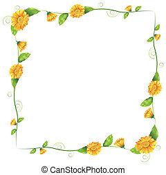 פרחים של תפוז, גבול