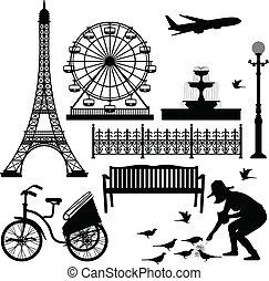 פריז, פארריס, מגדל, איפאל, גלגל
