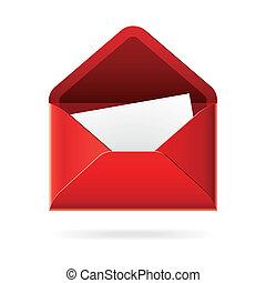 פתוח, מעטפה, איקון