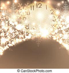 פתיתות שלג, text., אלגנטי, שים, רקע, חג המולד