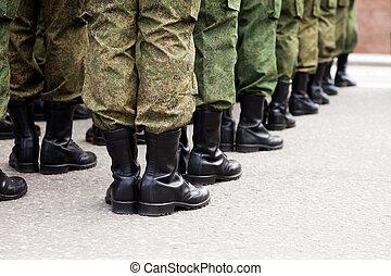 צבא, חייל, מדים, שיט
