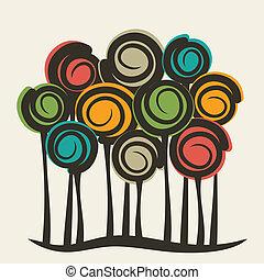 צבעוני, עץ, תקציר