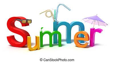 צבעוני, קיץ, מילה, מכתבים