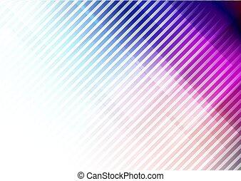 צבעים, רקע, קוים, תקציר, אלכסון