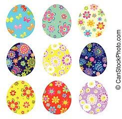 צבע, ביצים, חג הפסחה, צבעוני