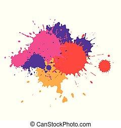צבע, הכתם, צבעים, שונה