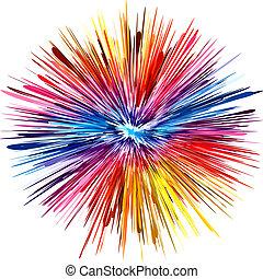 צבע, התפוצצות