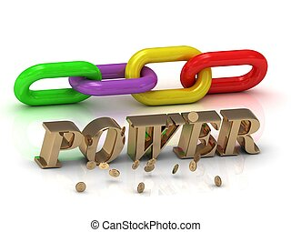 צבע, מואר, מכתבים, שלשל, חריתה, power-