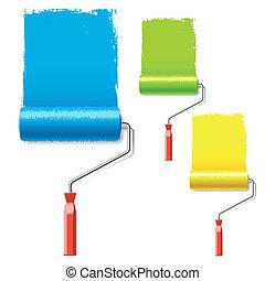 צבע מוטי גלילי