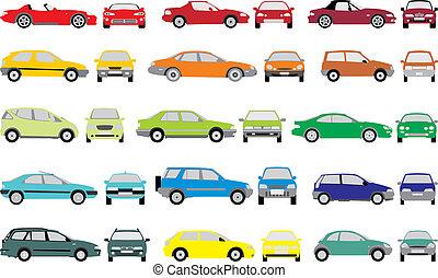 צבע, מכוניות