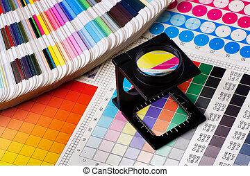 צבע, ניהול, קבע