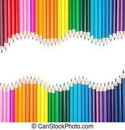 צבע, עפרונות, קבע, כופיספאך
