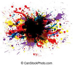 צבע, צבע, שכשוכים