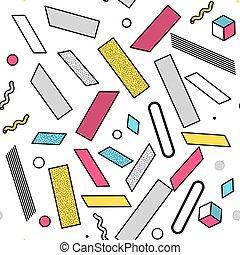 צבע, תבנית, עולמי, גיאומטרי, seamless