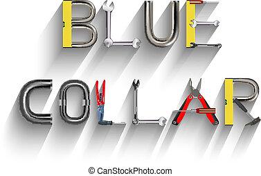 צוארון כחול