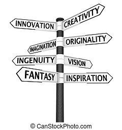 צומת, יצירתיות, חתום