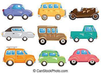ציור היתולי, מכונית, איקון