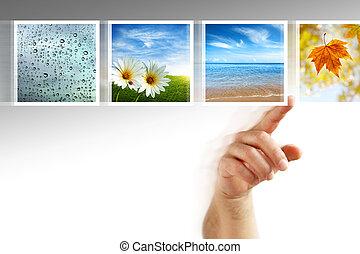 צילומים, touchscreen