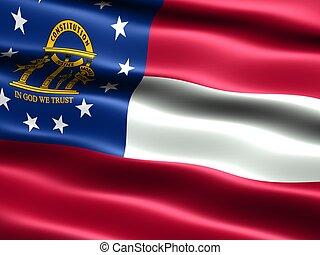 צין, ג'ורג'יה, flag: