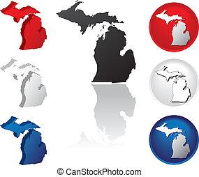 צין, מישיגן, איקונים