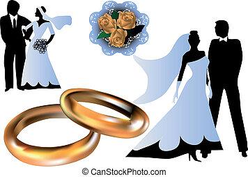 צלליות, קבע, חתונה