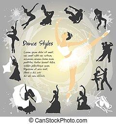 צלליות, קבע, לרקוד
