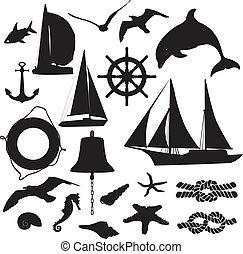 צלליות, קבע, symbolizing