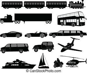 צלליות, תחבורה