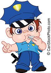 צעיר, שוטר