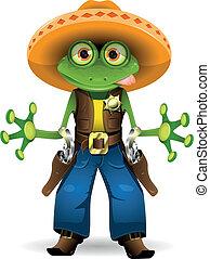 צפרדע, שריף