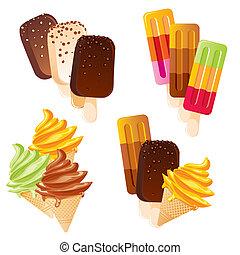 קבע, גלידה